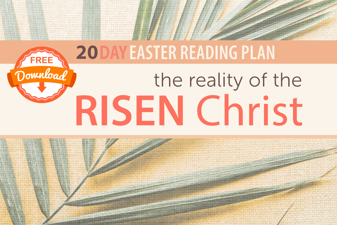 20 Day Easter Reading Plan