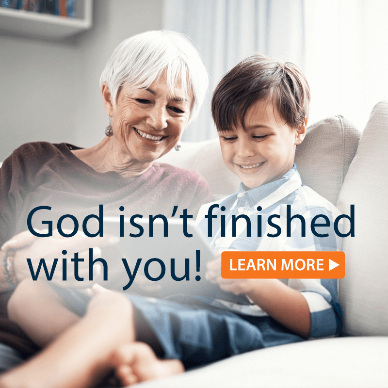 God isn't finished with you