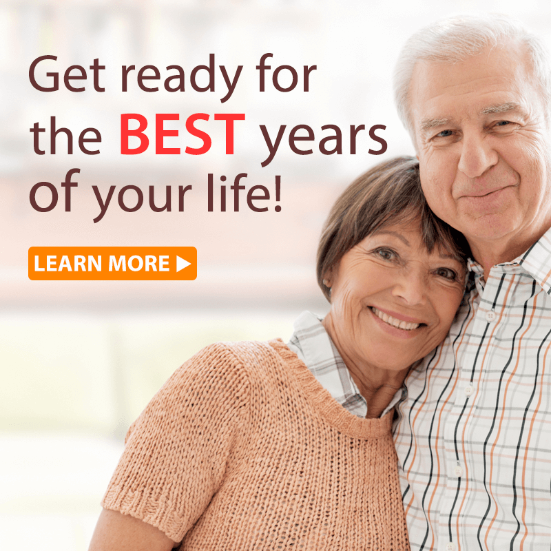 Get ready for the BEST years of your life!